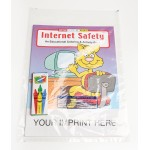 Custom Imprinted Internet Safety Coloring Book Fun Pack