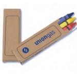 Prang Economy 3 Pack Crayons (1 Side Imprint) Logo Branded