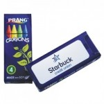 Prang Soy Crayons 4 Pack (Imprint) Custom Imprinted