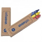 Prang Economy 3 Pack Crayons (2 Side Imprint) Custom Printed