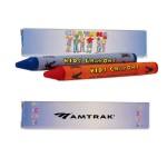 2 Pack Crayons Logo Branded