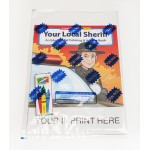 Your Local Sheriff Coloring & Activity Book Fun Pack Logo Branded