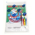 Logo Branded Holiday Fun Activity Pad Fun Pack