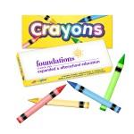 Custom Imprinted Liqui-Mark Crayon Box (4 Pack)