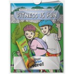 Custom Printed Combo Pack - Coloring Book & 4-Pack of Crayons (Imprinted) in a Poly Bag