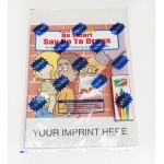 Be Smart, Say No To Drugs Coloring Book Fun Pack Custom Printed