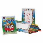 Custom Imprinted Crayons 8 Pack