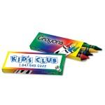 4 Pack Crayons Custom Imprinted