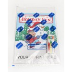 Logo Branded Holiday Fun Coloring Book Fun Pack
