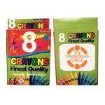 Logo Branded 8 Pack Crayons