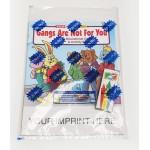 Gangs Are Not For You Coloring Book Fun Pack Custom Imprinted