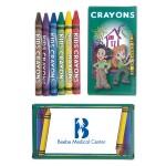 Logo Branded 6 Pack Crayons
