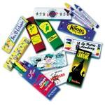 3 Pack Custom Crayons Box Logo Branded