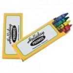 Logo Branded Prang Ad Pack Crayons (2 Side Imprint)