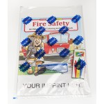 Custom Imprinted Fire Safety Coloring & Activity Book Fun Pack