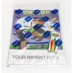 Custom Imprinted Scary Stuff Coloring & Activity Book Fun Pack
