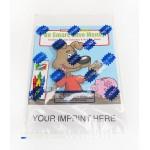 Custom Imprinted Be Smart, Save Money Coloring Book Fun Pack