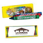 Custom Printed 3 Pack Jumbo Crayons