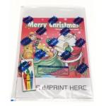 Merry Christmas Coloring & Activity Book Fun Pack Custom Imprinted