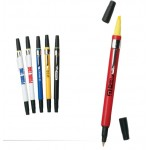 Personalized Highlighter Ballpoint Pen Combination