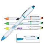 Custom Imprinted 3 in 1 Highlighter/Pen/Stylus
