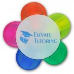5 Colors Flower Highlighter Custom Imprinted