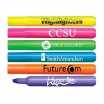 Liqui-Mark Brite Spots Fluorescent Barrel Broad Tip Highlighter Custom Imprinted