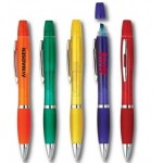 Pen & Highlighter Combo (Color Barrel) Logo Printed