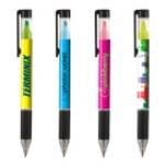 Duplex Pen & Highlighter Combo (Digital Full Color Wrap) Logo Printed