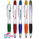 Personalized 3in1 Stylus Pen/Highlighter Combo