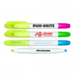 Liqui-Mark Duo-Brite Double Ended Highlighter Custom Imprinted