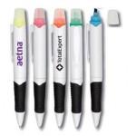 Custom Imprinted Pen & Highlighter Combo (White Barrel)