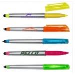 Custom Imprinted Highlighter Pen w/Stylus