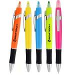 Logo Printed Tempo Highlighter & Pen Combo