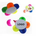 Flower Shaped Highlighter Petals Personalized