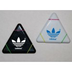 Logo Printed Triangle 3-in-1 Highlighter w/ Large Imprint Area