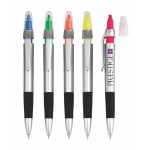 Personalized Slim Highlighter with Ballpoint Pen