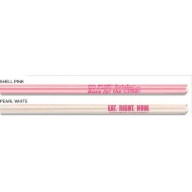 Custom Imprinted Dawn Wood Pencil w/Faux Crystal Tip