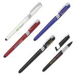 Custom Engraved 3-In-1 Stylus Smartphone Holder & Pen (Plastic)