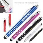 Custom Engraved 2 In 1 Metal Gravity Stylus Ballpoint Pen
