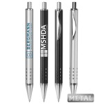 Pinpoint Metal Click Pens Custom Engraved