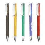 Ritter Glossy Transparent Pen Logo Branded