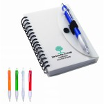 Spiral Notebook & Cardinal Pen Logo Branded