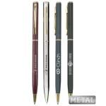 "Custom Engraved Union Printed, Promotional ""Remarkable"" Metal Twist Pen"