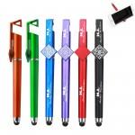 Logo Branded Multipurpose Mobile Phone Bracket Touchscreen Pens