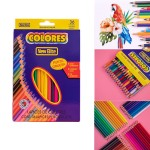 36 Color Children's Drawing Pencil Custom Engraved