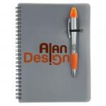Silver Champion/Notebook Combo - Orange Logo Branded