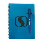 Custom Imprinted Double / Notebook Combo - Dark Blue
