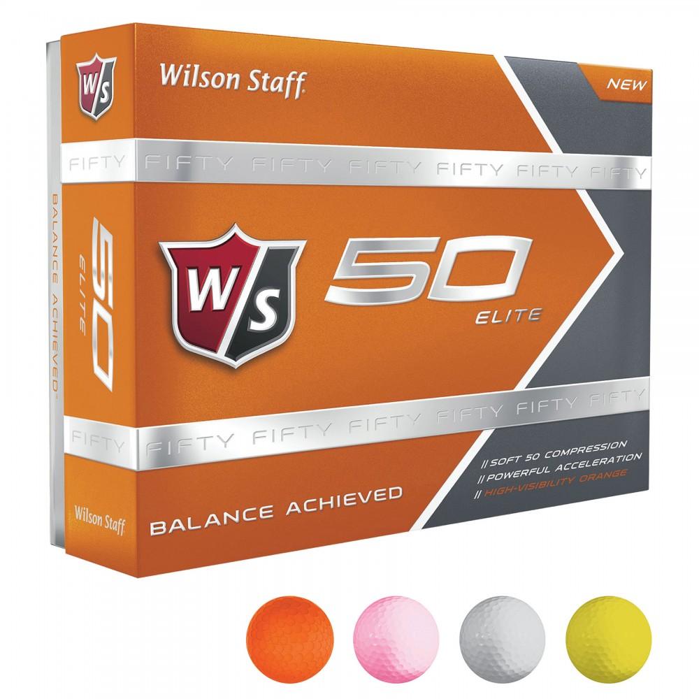 Custom Branded Wilson Staff 50 Balls