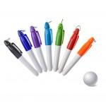 Budget mini dry erase golf marker pen Logo Printed